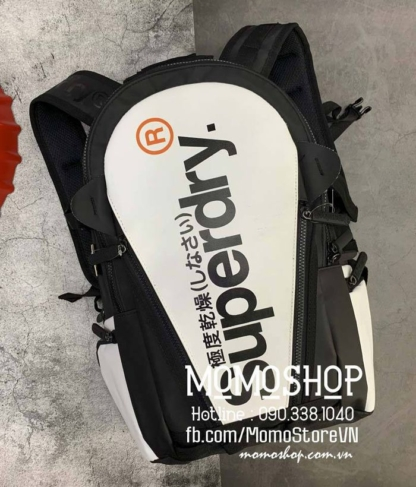 Balo du lịch Superdry cao cấp bl559 trắng