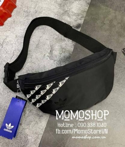 Túi đeo chéo Adidas chống nước bn708 đen