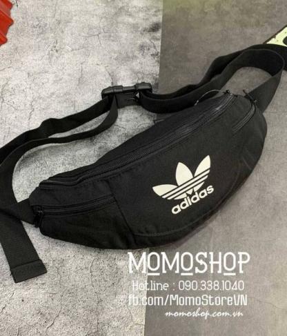 Túi đeo chéo nam Adidas thời trang bn707 đen