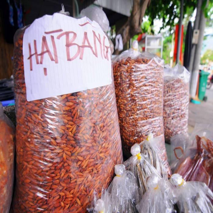 đặc sản hạt bàng côn đảo