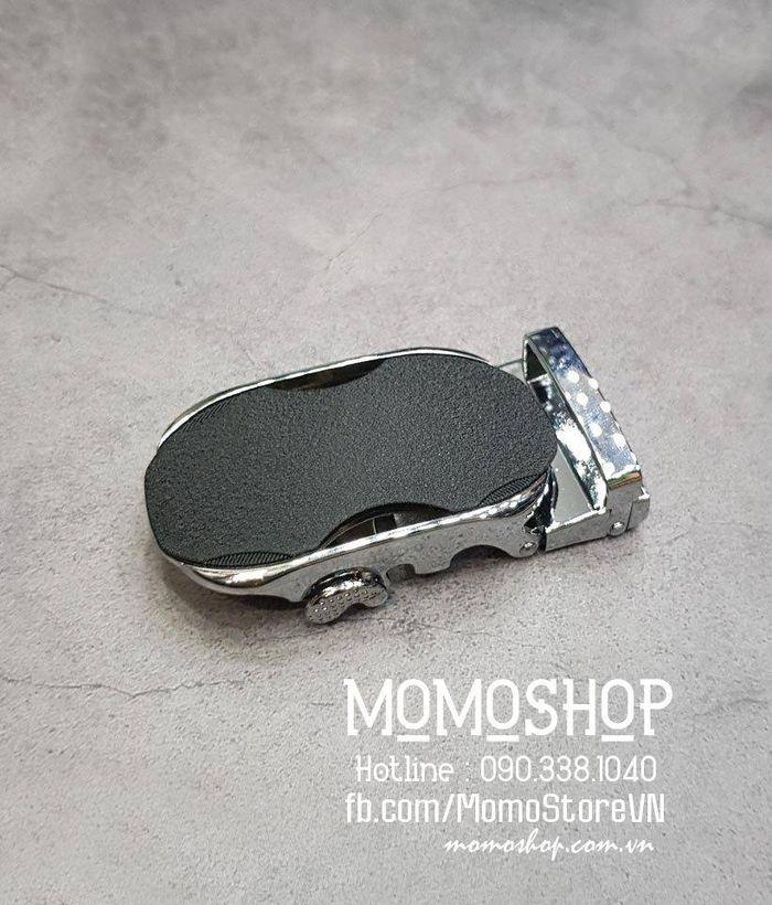 Mặt khóa thắt lưng nam cao cấp giá rẻ dn215 bạc