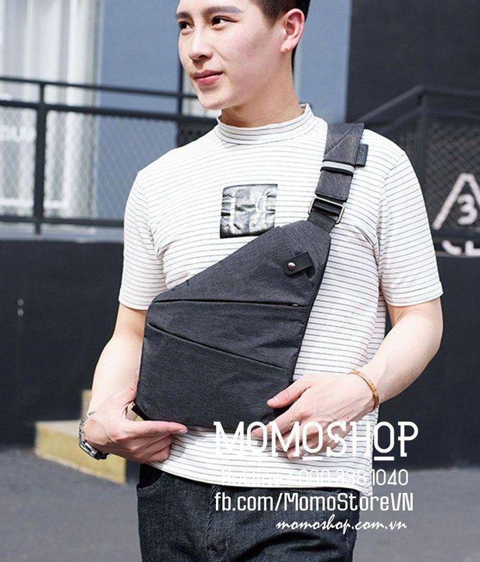 Balo đeo chéo chống trộm Hàn Quốc bn245ghi