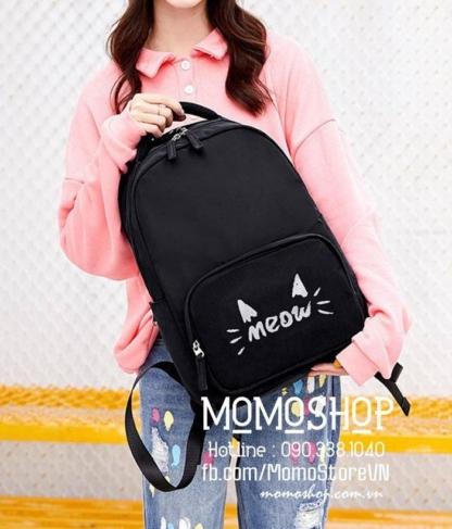 balo-đi-học-nữ-meomeo-bl494-đen