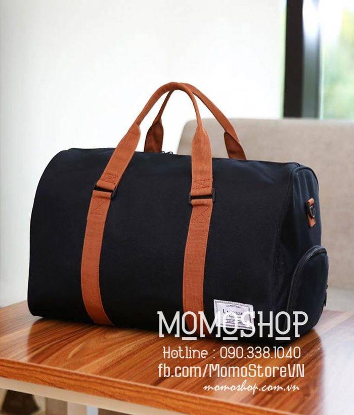 Túi xách du lịch vải nam đẹp màu đen