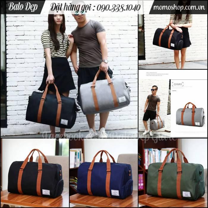 Túi xách du lịch nam đẹp Army màu xanh lá chất lượng vải tốt, giá rẻ nhất