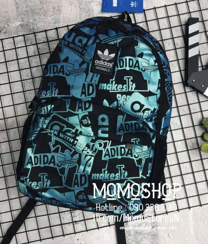 Balo thể thao Adidas thời trang bl496 xanhduong