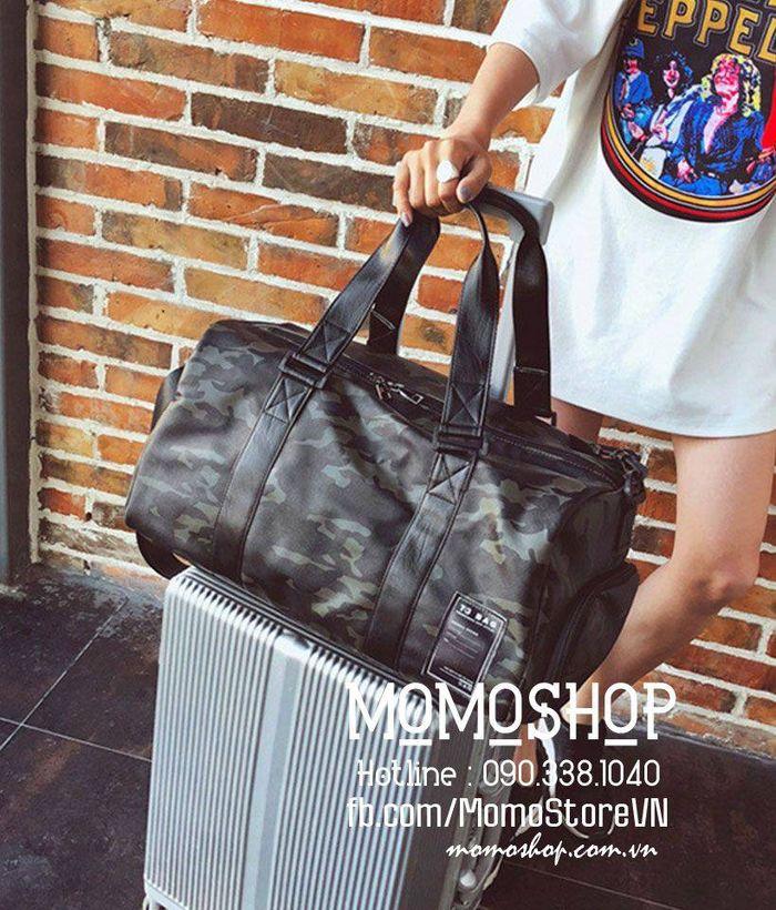 Túi xách du lịch thời trang chất lượng tốt bn277xanh