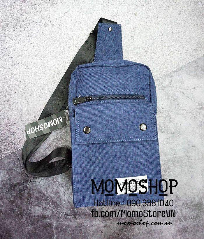 Túi đeo chéo nam đẹp thời trang Hàn Quốc bn200 xanh