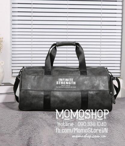 Túi xách du lịch size to cao cấp bn680 ghi