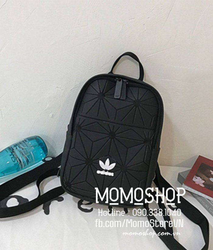 Balo mini Adidas 3D thời trang mini149den