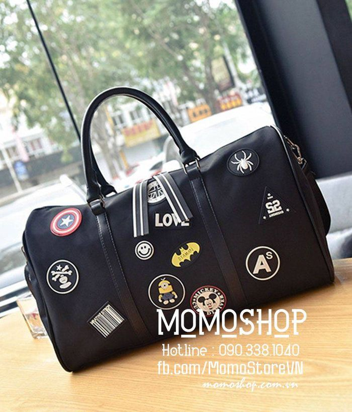Túi xách du lịch thời trang Hà Quốc đẹp bn429den