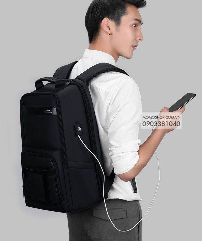 Balo Laptop Rowe bl524 đen