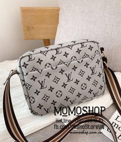 Túi đeo chéo LV thời trang Hàn Quốc bn513 ghi