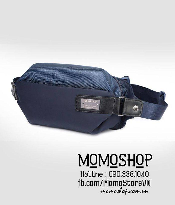 Túi đeo chéo nam Ozuko giá tốt bn499 xanh