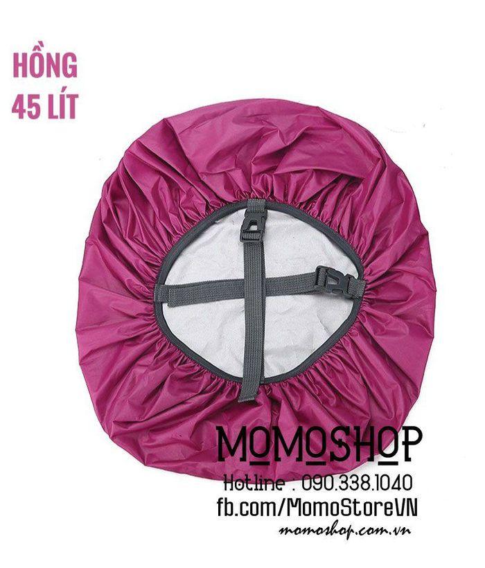 Túi trùm balo giá rẻ bn436 hong 45l