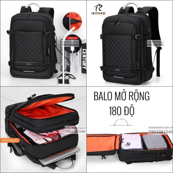 Balo Laptop 15 Inch Nam Sang Trọng Rowe Science BL525