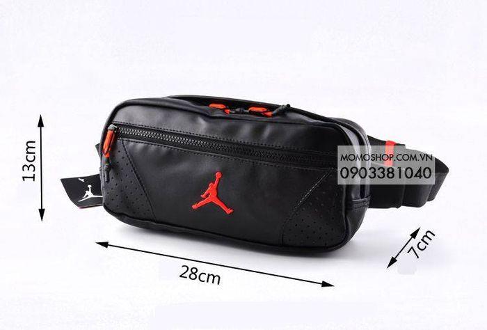 Túi đeo chéo Jordan đẹp xịn bn512 đen