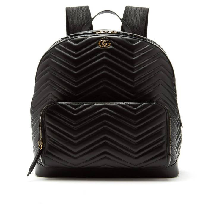 Balo da GG Marmont leather backpack