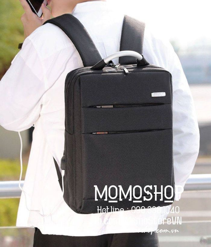 Balo laptop 14 inch giá ưu đãi bl538 den