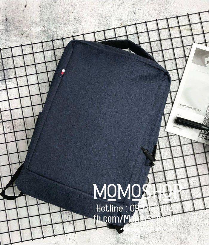 Balo laptop 15 inch cao cấp bl536 xanhduong