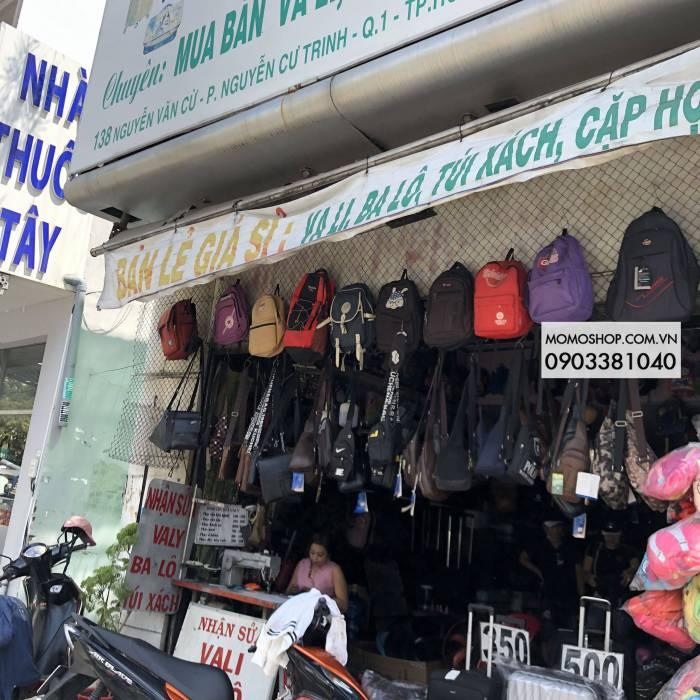 Cửa hàng Hưng thịnh Nguyễn văn cừ sửa vali , túi xách , balo , cặp