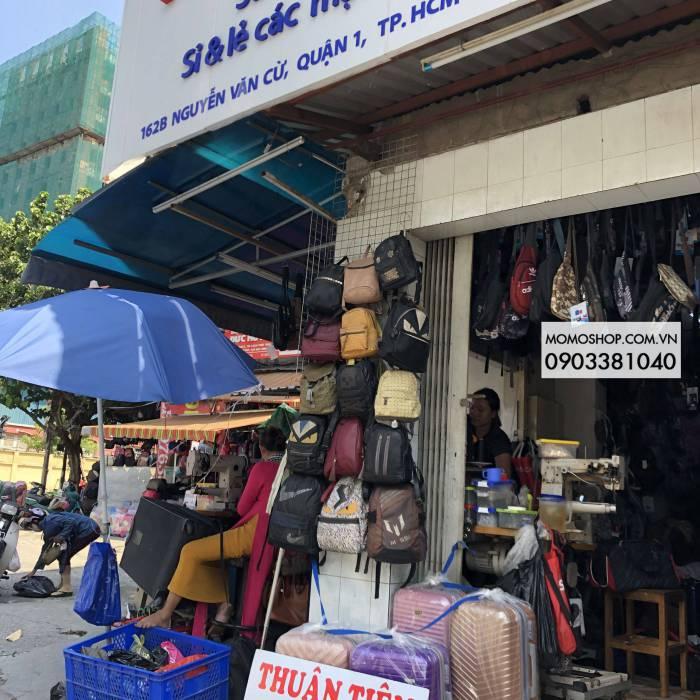 Cửa hàng Thuận Tiên 162B Nguyễn văn cừ sửa vali , túi xách , balo , cặphọc sinh