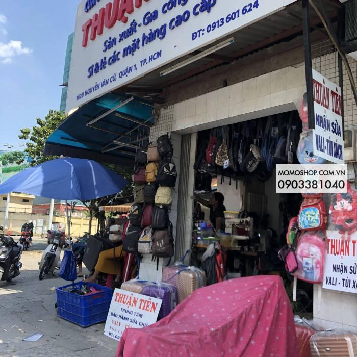 Cửa hàng Thuận Tiên Nguyễn văn cừ sửa vali , túi xách , balo , cặphọc sinh