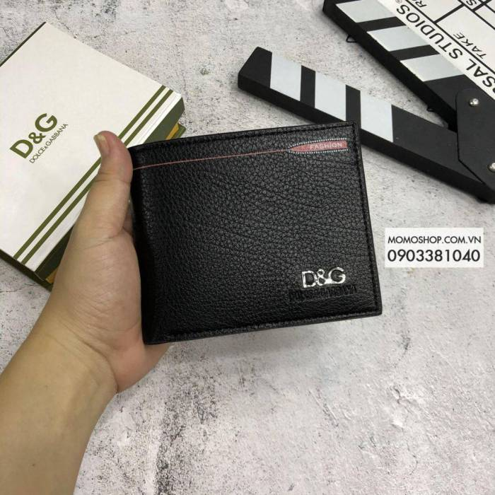Hình ảnh về Ví DG đẹp thời trang BN534 đen bóp da nam giá rẻ