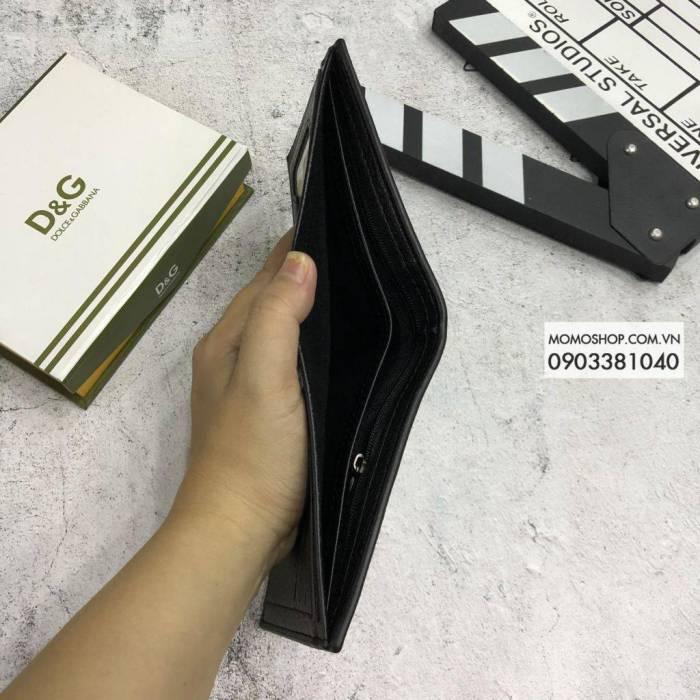 Hình về Ví DG đẹp thời trang BN534 đen ví nam kẹp tiền