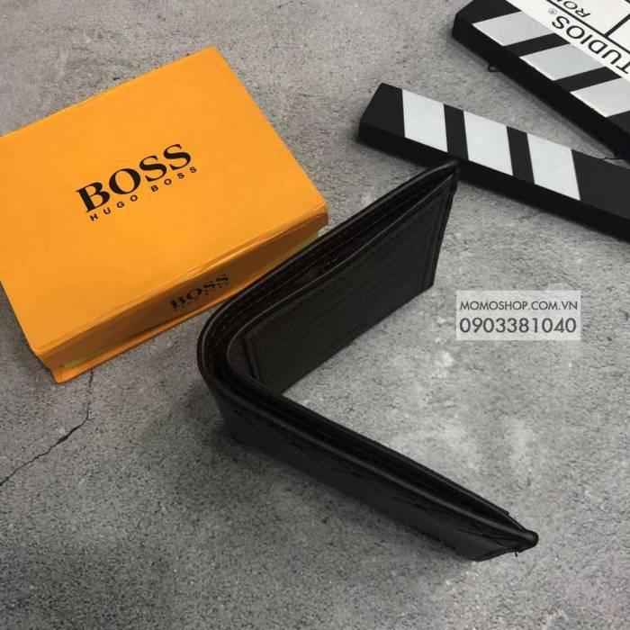 Ví Boss thời trang bn537 nâu ví cầm tay nam giá rẻ