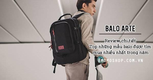 Balo Arte – Top những mẫu balo được tìm mua nhiều nhất trong năm