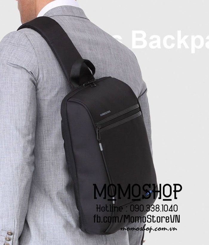 Balo laptop đeo chéo Kingsons BN556