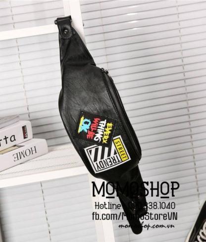 Túi đeo chéo nam chất lượng bn582 đen