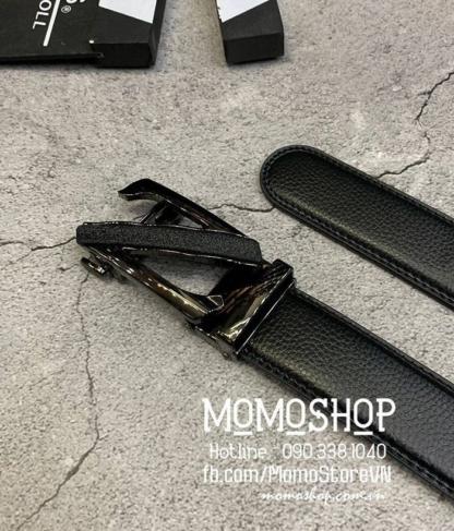 Thắt lưng nam cao cấp giá rẻ nhất HCM dn311 đen