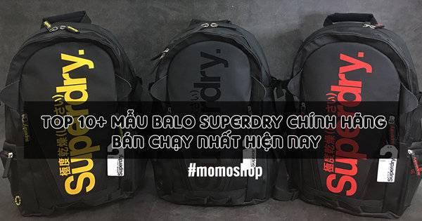 Top 10+ mẫu Balo Superdry Chính hãng bán chạy nhất hiện nay
