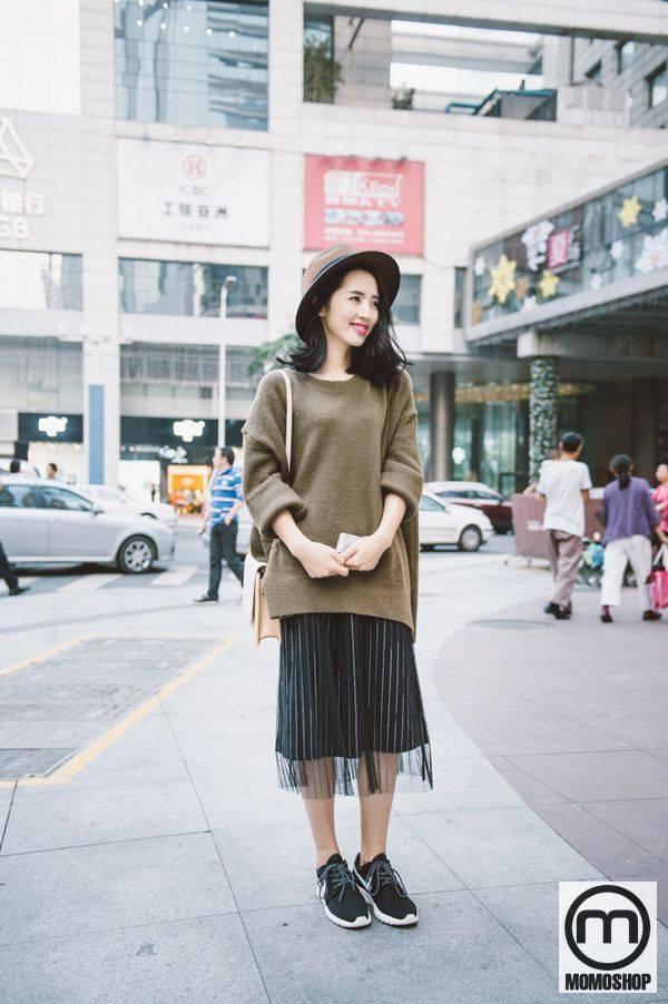 Chân váy xếp ly xu hướng thời trang