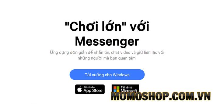 Hướng dẫn cài đặt Messenger trên máy tính của bạn