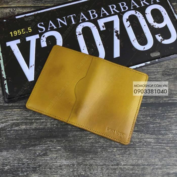 Ví nam da bò thật giá ưu đãi bn651 vàng ví nam cầm tay nam