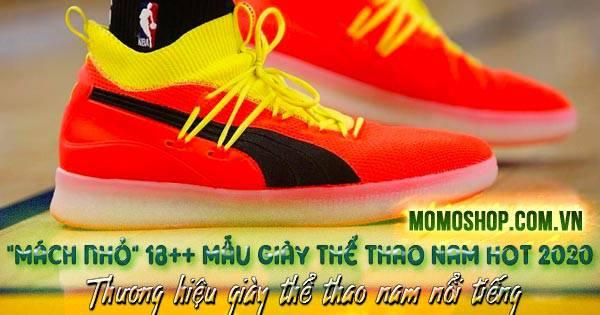 Mẫu Giày Thể Thao Nam top hot 2020 + Những thương hiệu giày thể thao nam