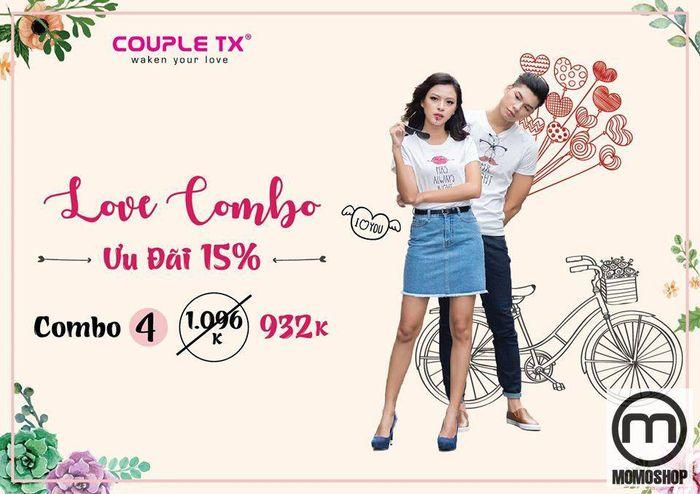 Mở cửa hàng ngày cho khách hàng từ 8:30 - 21:00, Shop Couple TX phân phối cho khách hàng những sản phẩm quần áo đôi năng động và sành điệu.