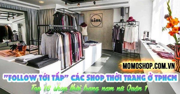 Các Shop Thời Trang Nổi Tiếng Ở TPHCM + Top 16 shop thời trang nam nữ