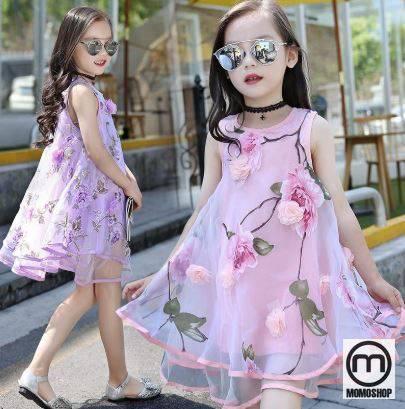 Diện cho bé váy xòe, váy thời trang, váy công chúa chắc chắn sẽ thích thú với set đồ bé.