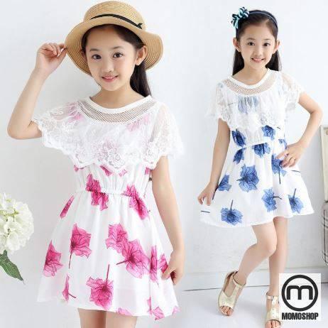 Mix đồ cùng váy trắng siêu xinh cho bé