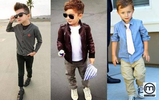 Bên cạnh một chiếc quần skinny, một đôi giày vàng và một chiếc kính thời trang để giúp bé trở nên sành điệu và thời trang. Toàn bộ quần áo này sẽ giúp con trai trông thật ngầu. Có lẽ rất nhiều bà mẹ hiện đại sẽ yêu thích thời trang này.