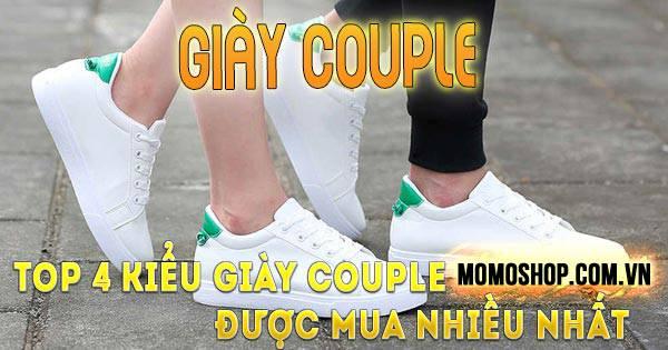 Top 4 kiểu Giày Couple được yêu thích nhất và địa chỉ bán uy tín