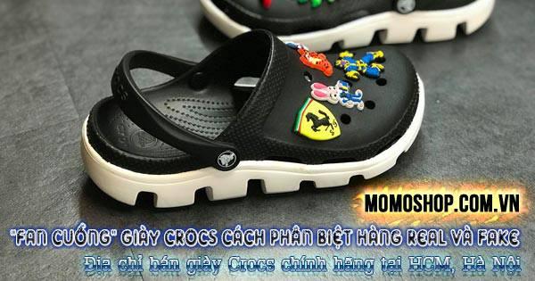 Cách phân biệt Giày Crocs real và fake + Địa chỉ chính hãng