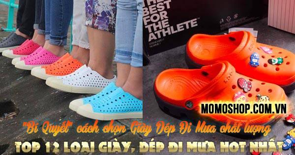 cách chọn Giày Dép Đi Mưa chất lượng + Top 12 loại giày