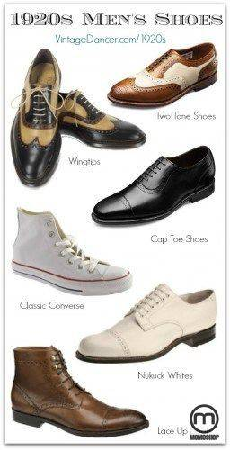 Xu hướng giày trong những năm 1920 và 1930