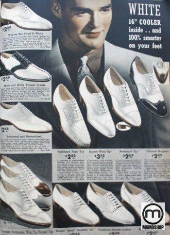 Giày Oxford và giày Boot cùng kiểu vào năm 1927