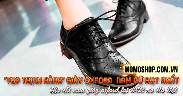 Tổng hợp 4 mẫu Giày Oxford nam nữ thịnh hành và địa chỉ oxford uy tín
